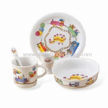 Dinnerware Set, Made of Porcelain, Available in Various Sizes