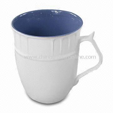 Porcelain Cup, Measures 9 x 10.5cm, Weighs 0.25 kg