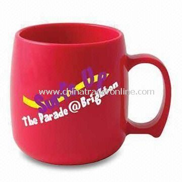 Neon Classic Printed Mug in Vibrant Eye Catching Shades, with Attractive Curved Edges
