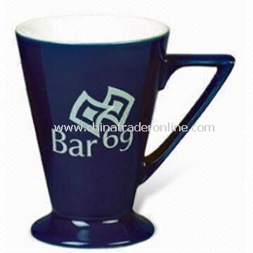 Rio Mug with 160mL Capacity, Comes in Yellow, Reflex Blue, and White