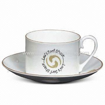 Stirling Bone China Cup and Saucer with 175mL Capacity