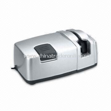 Electric Knife Sharpener with Ceramic Sharpening Wheel