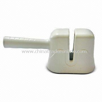 Knife Sharpener with High Quality Crisscross Type 2 Sharpening Rods, Made of ABS Case