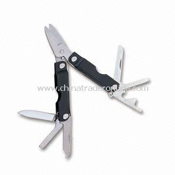 Multifunction Tool, Includes Scissors, Serrated Knife, Sharp Knife and More