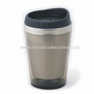 Coffee Mug with 12oz Capacity, Made of Stainless Steel, FDA Approved