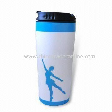Mug with Capacity of 16oz, Made of Plastic