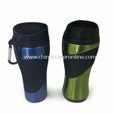 Stainless Steel Coffee Mugs, New Design, Available in Capacity of 750mL, Eco-friendly