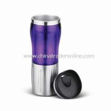 Travel Mug with 16oz Capacity, Made of AS