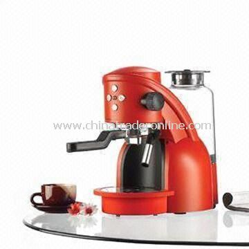 1,200W Espresso Coffee Machine with Removable Drip Tray and Water Tank