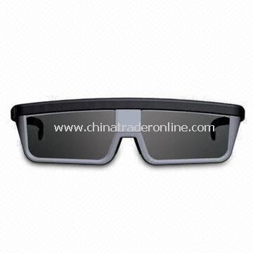 3D Active Shutter Glasses for Samsung, 0 to 50°C Operating Temperature