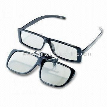 3D Glasses, Ideal for Watching 3D Movies/Playing Games, Customized Shapes and Sizes are Welcome from China