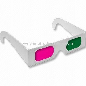 3D Glasses, Made of Customers Requests in Shapes and Sizes