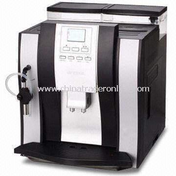 Automatic Espresso Maker with 50 to 60Hz Frequency and 1,250W Power