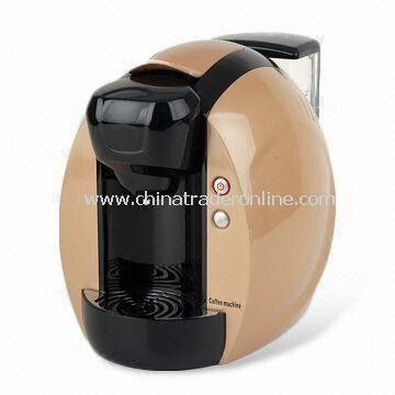 Capsule Coffee Machine, Available in Various Colors, OEM Orders are Welcome from China