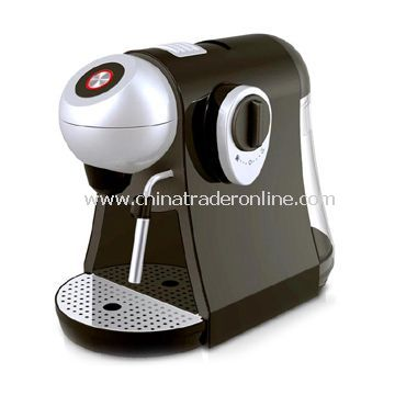 Capsule Machine with Manual Coffee Volume Control, Suitable for Making Lavazza, Espresso Coffee