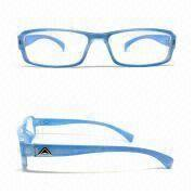 Classic Reading Glasses with Brass Frame, AC Lens, Printed and Laser Logos