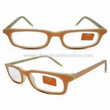 Double Color Handmade Acetate Reading Glasses, Available in Natural Fashionable Designs