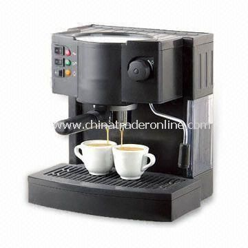 Espresso/Cappuccino Coffee Machine with 50/60Hz Frequency and 220 to 240V AC Voltage