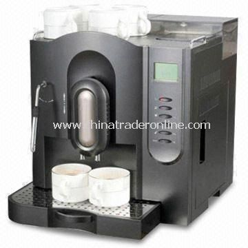Espresso Coffee Machine with Removable Water Tank and Drip Tray