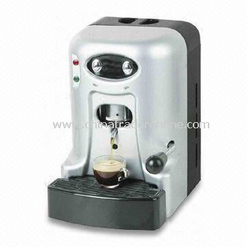 Espresso Pod Coffee Machine with 220 to 240V Voltage and 1,566W Rated Power from China