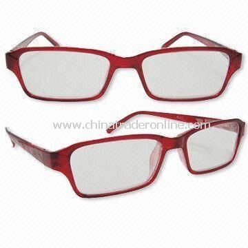 Fashionable Reading Glasses, Saddle Nose Bridge for Extreme Comfort, Available in Various Sizes