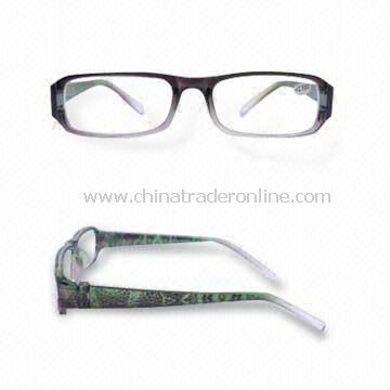 Fashionable Reading Glasses, Suitable for Chain Store and Retails, CE and FDA Certified from China