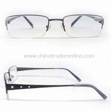 Metal Reading Glasses, Fashionable and Popular Style, AC Lens