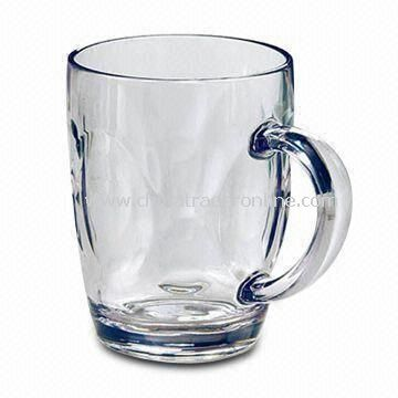 18oz Beer Mug, Made of Glass, Measures 121 x 91.5mm