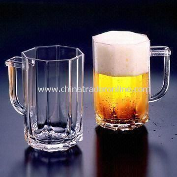 Acrylic Ultimate Beer Mugs, Measures 14 x 10 x 16.0cm