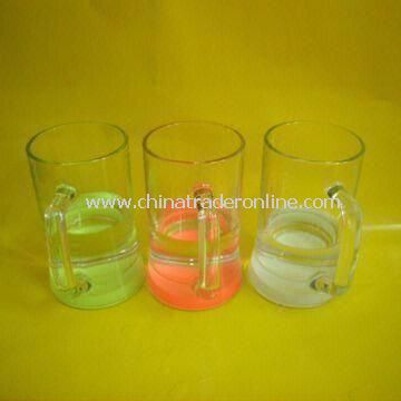 Beer Mugs/Cups, Made of Glass