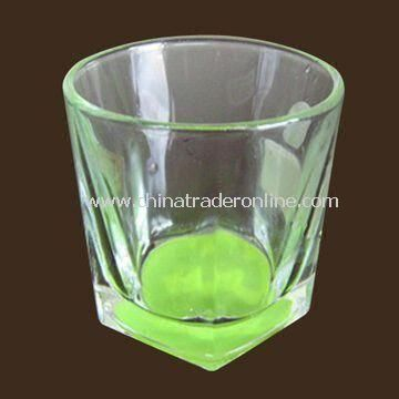 Glass Beer Mug, Available in Green, Measuring 79 x 81mm, with 205 ± 18mL Volume