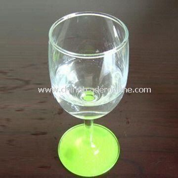 Light Beer Mug, Made of Glass, Measures145 x 50mm, Various Styles are Available