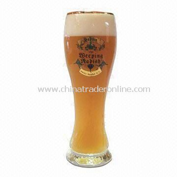 Promotional Beer Glass, Available in Up to Six Colors with Your Logo, OEM Orders are Accepted