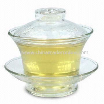 100mL Tea Glass Set, Made of Hand-blown Glass from China