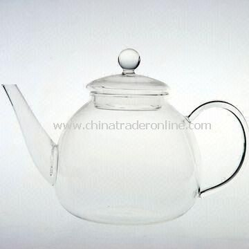 Heat-resistant Teapot, Can be Heated Directly on Fire, Made of Borosilicate Glass from China