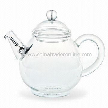 Heat-resistant Teapot, Made of Borosilicate Glass, Can be Heated Directly on Fire
