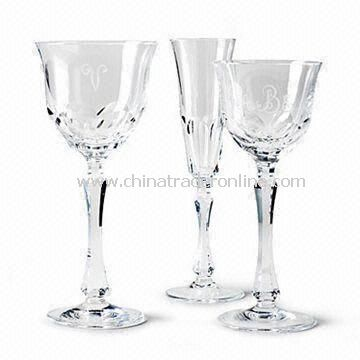 Stemware with 18.5cm Height, Suitable for Promotional Purposes