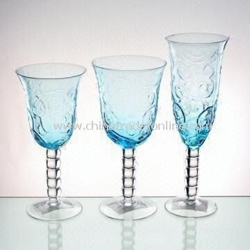 Three-piece Wine Glass Set Suitable for Promotional Purposes