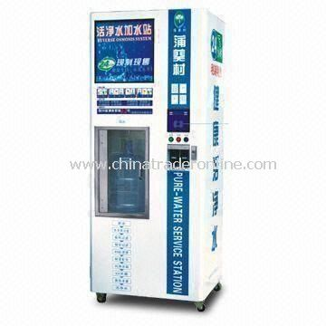 Water Vending Machine with 9-stage Filtration, RO Purification, Ozone Disinfection and 8L/Minute