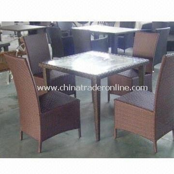 Hotel Furniture Set with Weather-resistant Cushion and Aluminum Frame