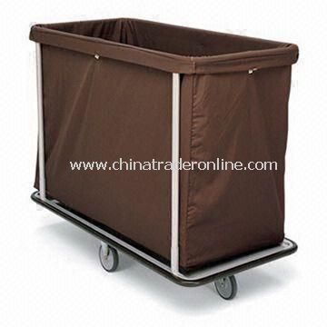 Laundry Cart, 1-inch Square Steel Tubular Base, and HD Cloth Bag