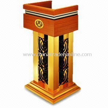 Lectern, Measures 680 x 500 x 1,200mm, with Oil-painted Finish