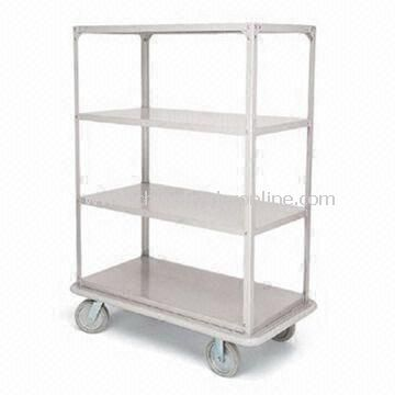 Linen Cart with Two Handles, 48 x 24 x 60-inch Linen Cart