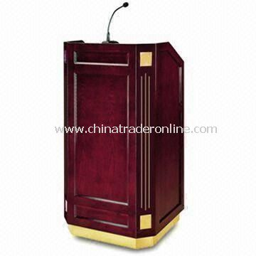 Rostrum, Made of Teak/Camphor Wood, with Oil-painted Finish from China