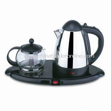 Electric Kettle with Stainless Steel Filter, Available in Various Sizes