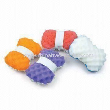 Environment-friendly Cleaning Sponges, Customized Sizes, Colors, and Weights are Accepted