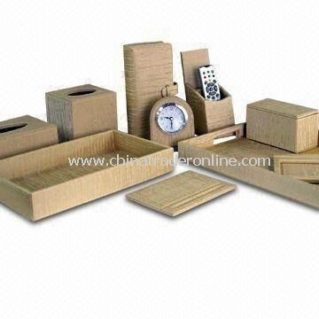Guest Room Amenities/Supplies, Classic and Fashionable, with 370 x 300 x 45mm Rectangular Tray from China