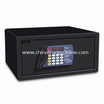 Hotel/Electronic/Room Safe with Master/Guest Code and Mechanical Key, Measuring 200 x 420 x 370mm