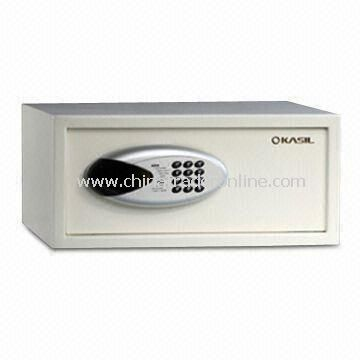 Hotel Safe with Electronic Lock, Laptop Computer Size for Hotel Guest Room Safety