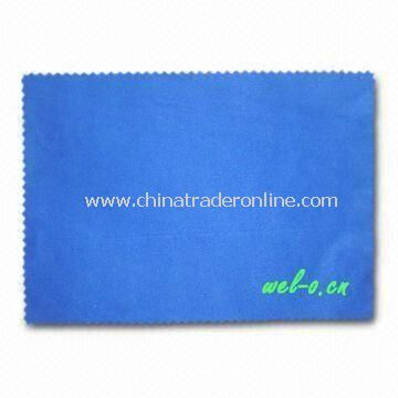 Lens Cleaning Cloth/Towel, Made of Microfiber, Customized Logos, Sizes and Designs Available